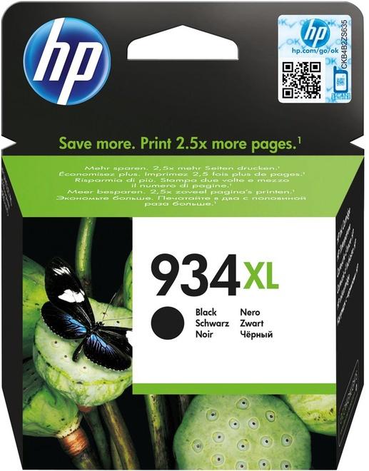 HEWLETT PACKARD HP 934 XL BLACK