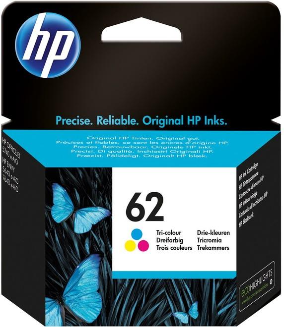 HEWLETT PACKARD HP 62 PACK COULEUR