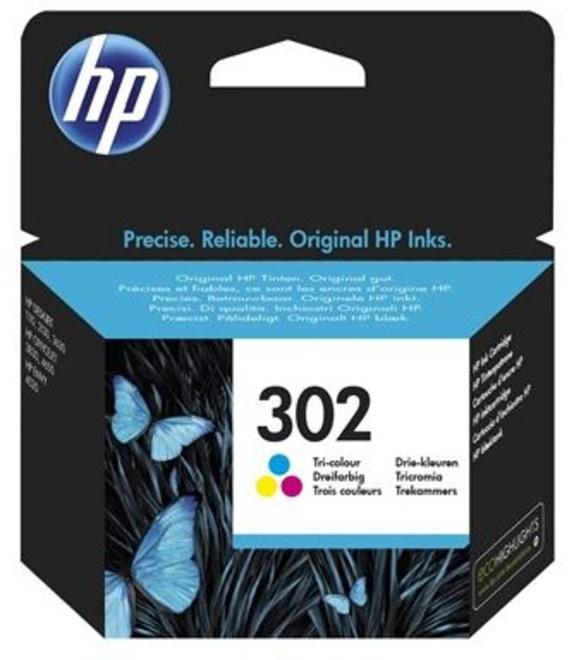 HEWLETT PACKARD cart HP302 couleur.