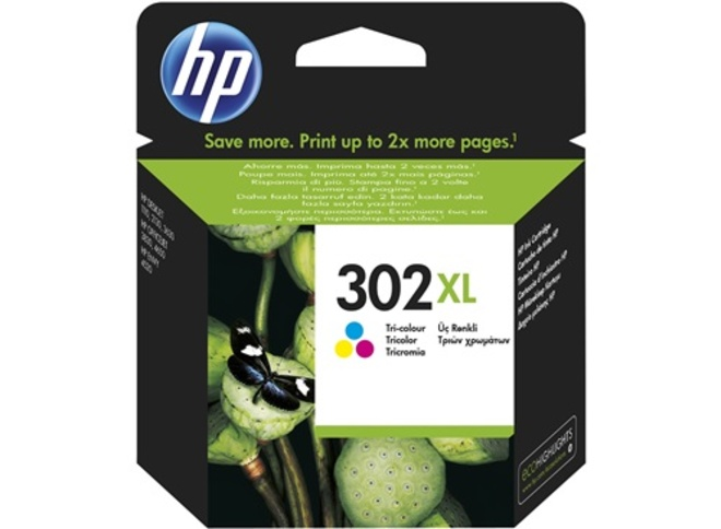 HEWLETT PACKARD cart HP302 XL couleur.