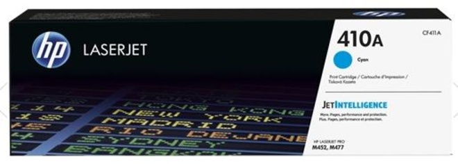 HEWLETT PACKARD toner cyan hp410a p/laserjet pro m452 dn