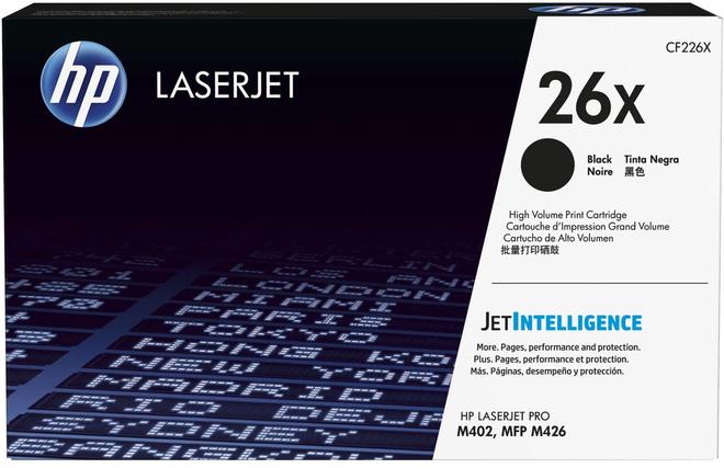 HEWLETT PACKARD toner noir XL p/ LASERT JET M402.
