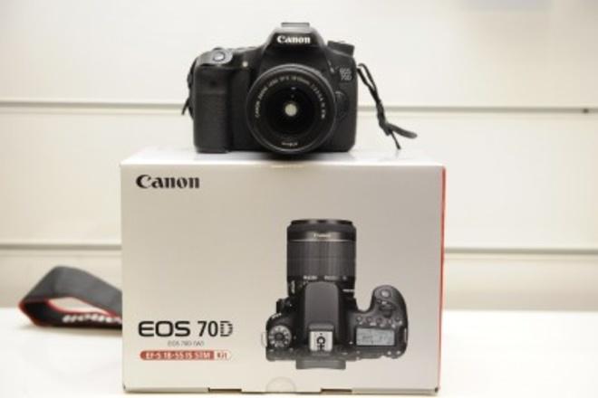 CANON EOS 70D + 18/55 STM