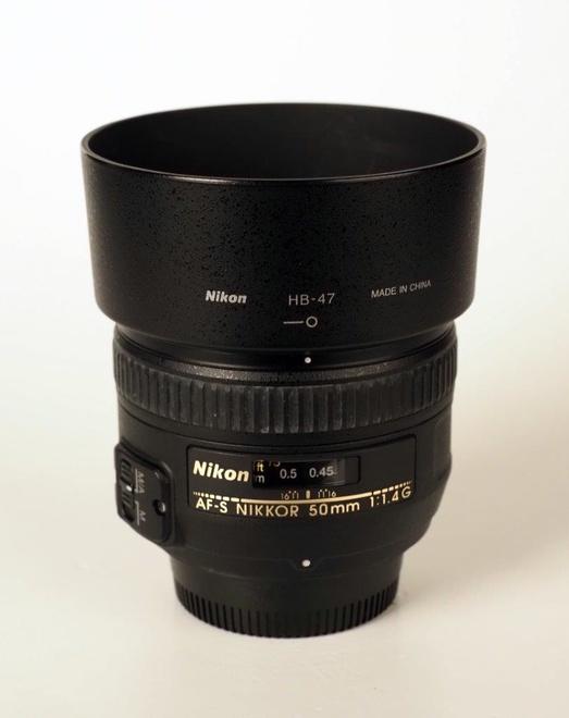 NIKON 50mm F/1.4 G