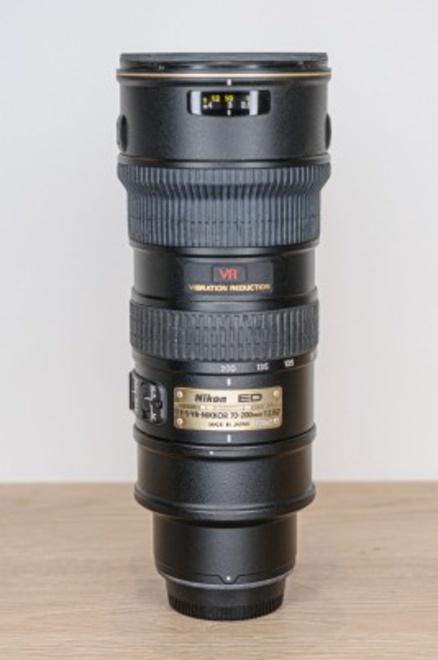 NIKON AF-S VR 70-200 F/2.8