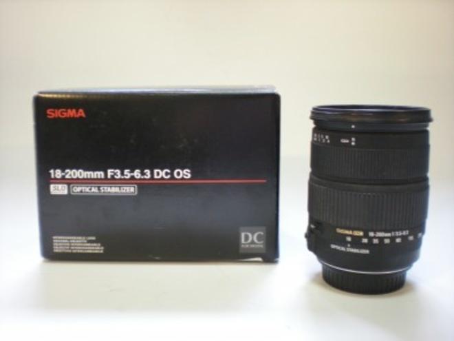 SIGMA 18-200mm f/3.5-6.3 DC OS MONTURE CANON