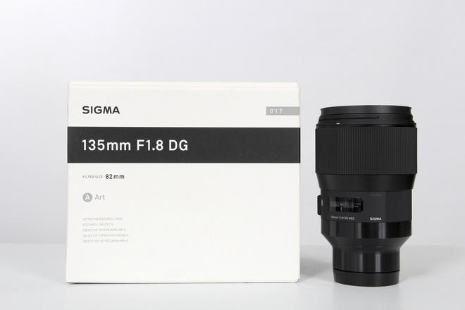 Sigma 135 mm f1.8