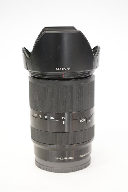 SONY 18-200MM E 3,5-6,3 OSS