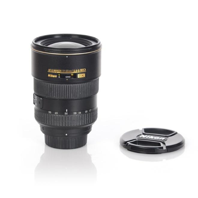 Nikon Objectif DX 17-55mm F2,8G ED - Occasio