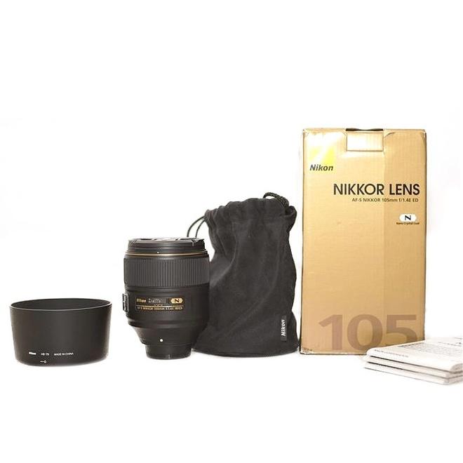 Nikon AF-S 105mm F1,4E ED - Occasion