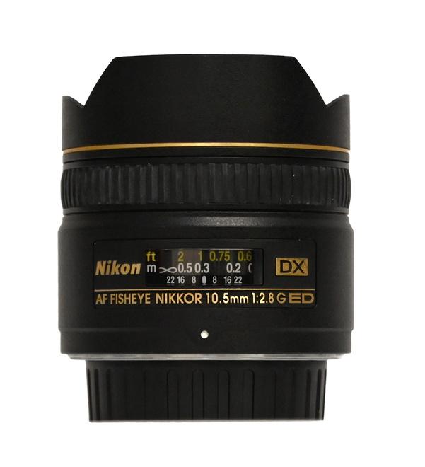 AF FISHEYE 10.5mm F/2.8 G ED DX