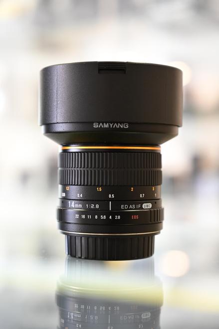 SAMYANG 14 MM F2.8 pour Canon