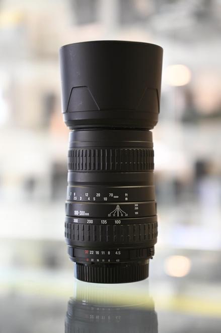 SIGMA 100 300 MM F 4.5 6.7 DL pour Nikon