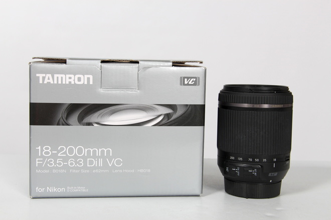 Tamron 18-200mm f/3.5-6.3 dii vc monture nikon