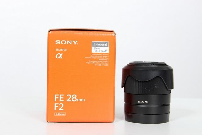 Sony 28 mm f 2 fe e mount full fram