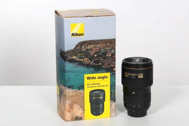 Nikon 16-35mm af-s f 4 G ED VR