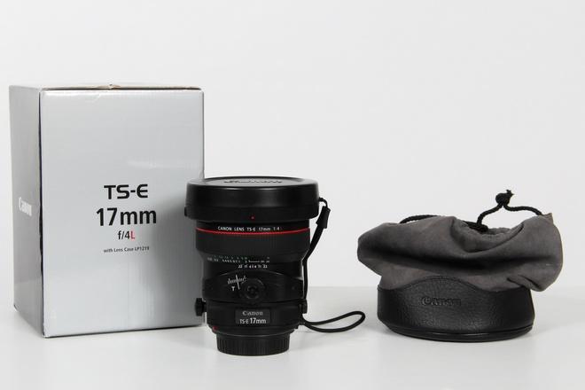 CANON TS-E17mm f/4 L