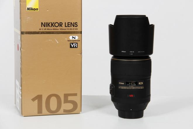 NIKON AF-S 105mm f/2.8 G IF-ED MACRO