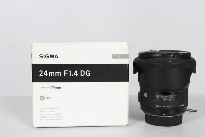 SIGMA 24MM F1.4 DG MONTURE NIKON