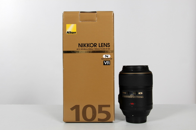 NIKON AF-S 105MM F/2.8G IF ED VR