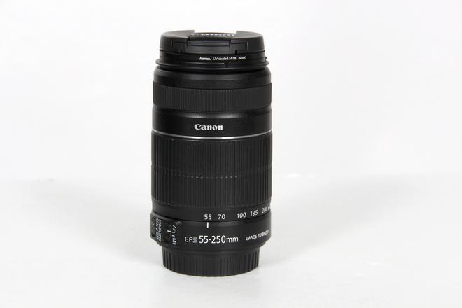 CANON EF-S 55-250mm IS (stabilisé) Version II
