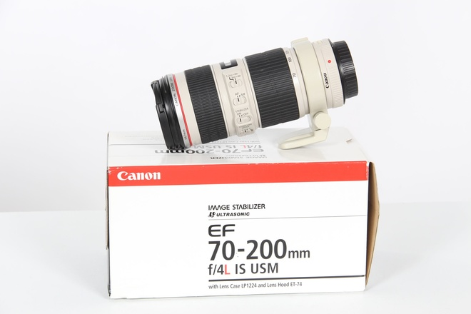 Canon ef 70/200 mm f 4 L IS USM occasion
