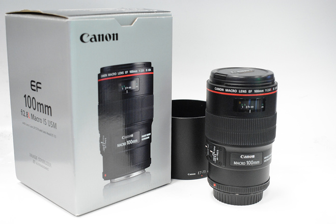 CANON 100MM F2,8 L IS USM
