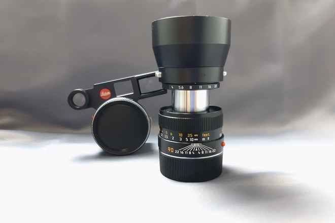 Leica M 90mm f/4 Elmar + adaptateur macro