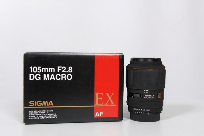 SIGMA 105MM F2.8 DG EX MACRO MONTURE NIKON AF