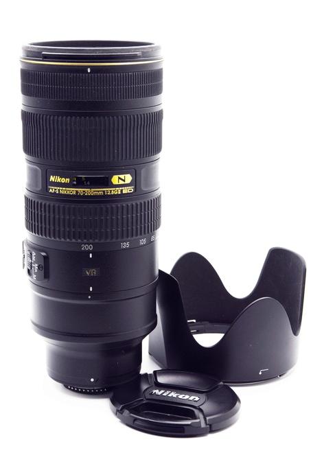 Nikon 70-200 F2.8 VRII