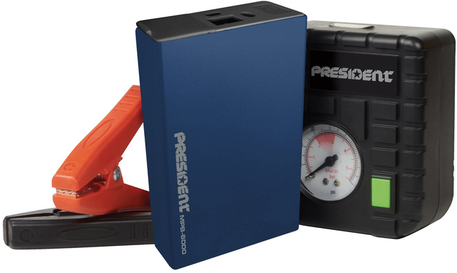 PRESIDENT multi pack booster 6a + accessoires