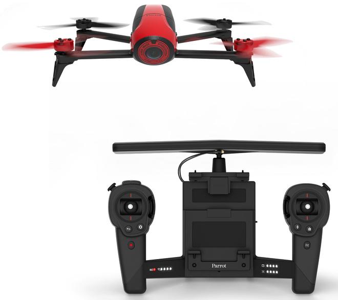 PARROT drone bebop 2 rouge + telecommande.