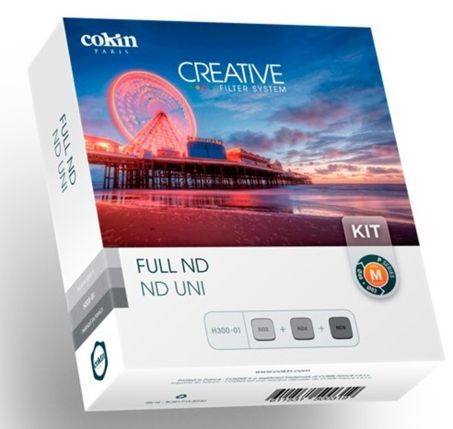 COKIN kit 3 filtres nd.152-153-154.m.