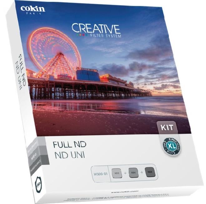 COKIN kit 3 filtres nd.152-153-154.xl.