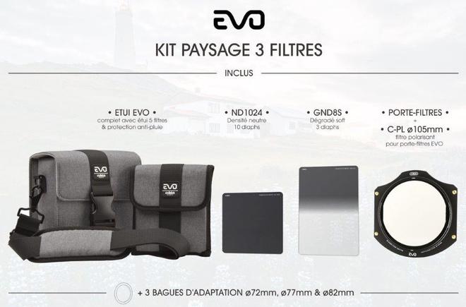 COKIN Filtres EVO kit paysage 3 filtres ZPRO