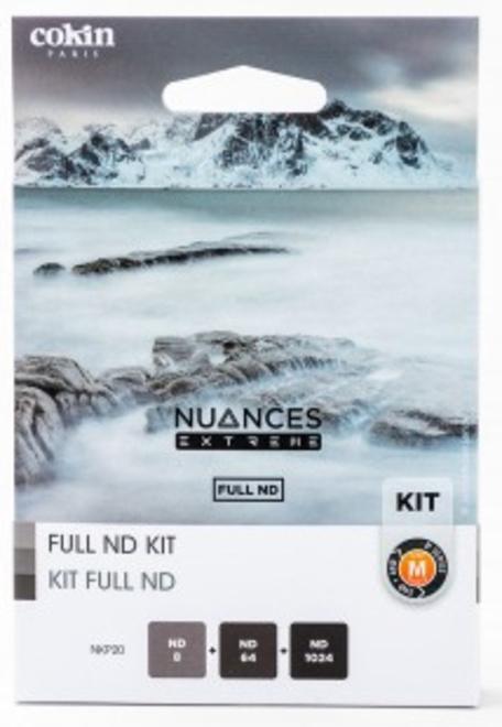 COKIN Kit Densite Neutre Unis ND8,ND64,ND1024