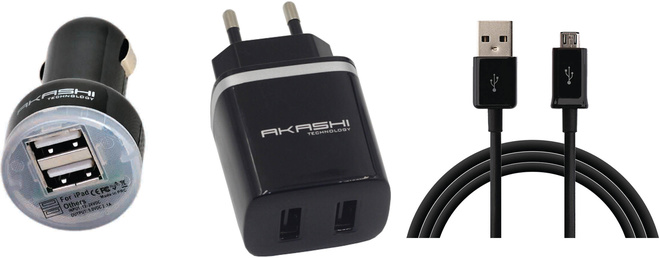 G K I P adapt/sect+cac+cable microusb 2a1 vrac