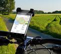AKASHI support smartphone pour velo noir