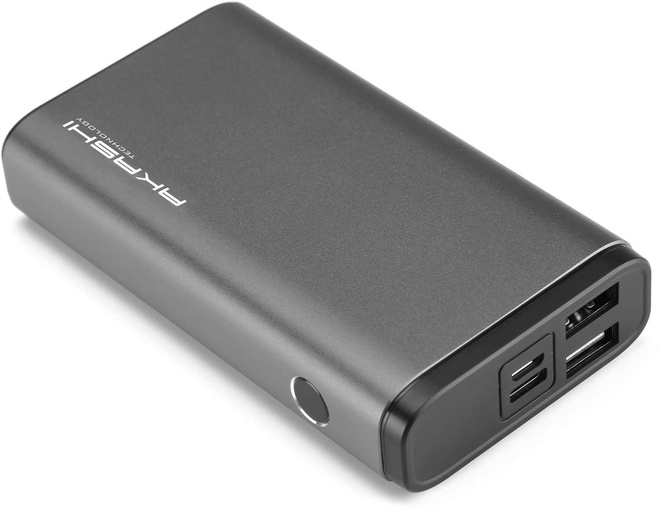 AKASHI powerbank rapide10000mah 2 usb alu grey