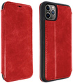 AKASHI etui cuir rouge stand cb p/iph 11 pro