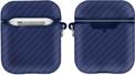 AKASHI coque antichoc carbon bleu p/airpod1/2