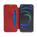 AKASHI etui cuir rouge stand cb p/iph 12/12 pro