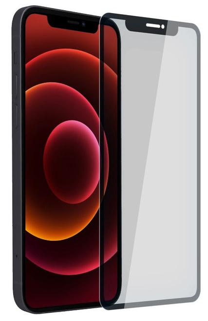 AKASHI prot/verre integral noir p/iph 12 mini