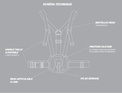 CROSSCALL harnais de fixation systeme x-link