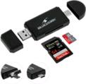 BLUESTORK lect carte SD et Micro SD connect USBC.