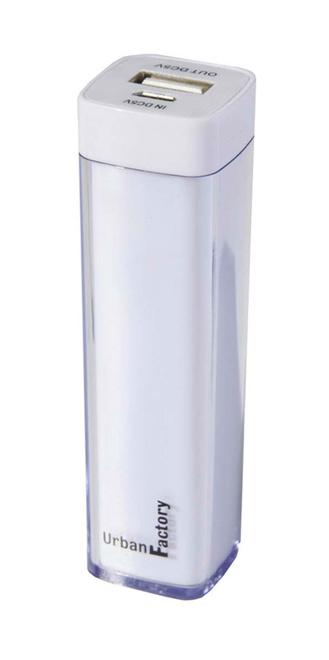 URBAN FACTORY batterie de secours 2200 mah blanc