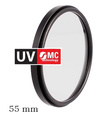 STARBLITZ FILTRE UV 55 MM MULTICOUCHES OBJECTIF