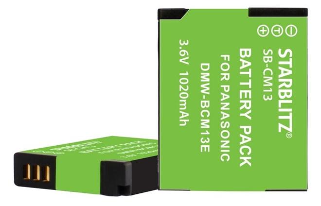 STARBLITZ BATTERIE COMPATIBLE PANASONIC DMW-BCM13