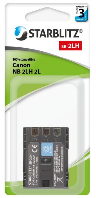 STARBLITZ Batterie compatible Canon NB-2LH/2L