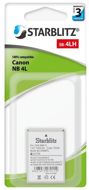 STARBLITZ BATTERIE COMPATIBLE CANON NB-4L